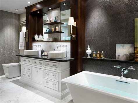 20 Luxurious Bathroom Makeovers From Our Stars Hgtv Hgtv Bathroom Design Ideas