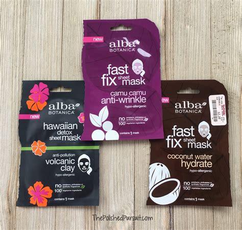 Alba Botanica Hawaiian Detox Sheet Mask by My Favorite Alba Botanica Products The Polished Pursuit