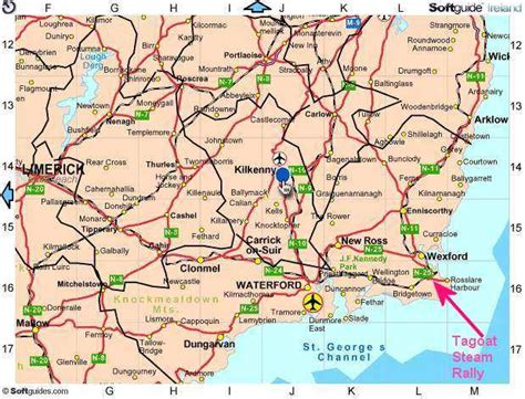map of wexford town contact us