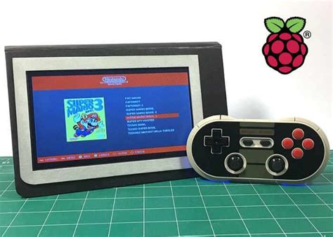 raspberry pi game console raspberry pi zero portable games console geeky gadgets