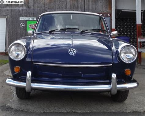 volkswagen squareback blue photo