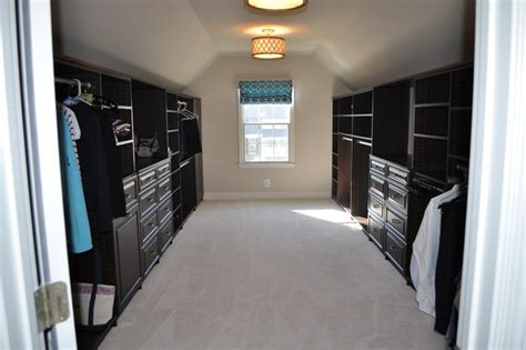Slanted Ceiling Closet Design by Great Closets With Sloped Ceiling