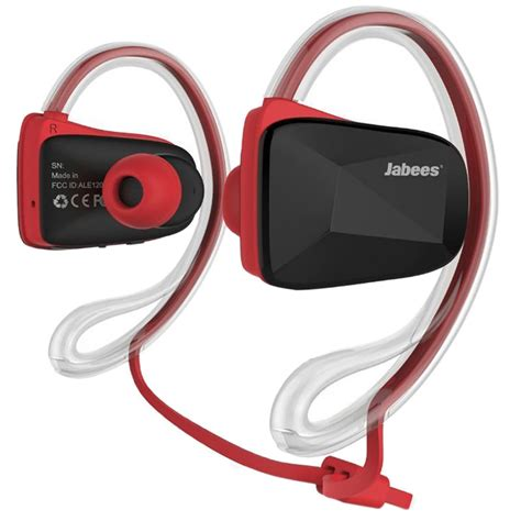 Headset Bluetooth Jabees Jabees Bsport Bluetooth Stereo Headset R 246 D