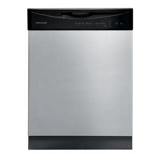 frigidaire ffbd2411nm 24 quot built in dishwasher silver mist