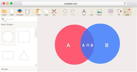 venn diagram maker tool to easily create venn