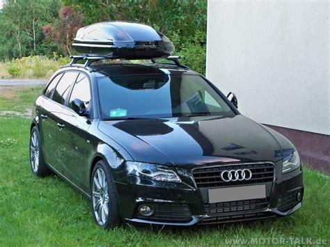 Audi A4 Dachbox by Dachbox 1 Audi A4 B8 8k 1 8 Tfsi Fritzgerald 8k