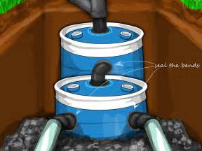 How To Dig A Well In Your Backyard 55 Gallon Drum Septic Tank Plans Motorcycle Review And