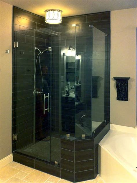 Shower Doors Dallas Neo Angle Shower Enclosures Shower Doors Of Dallas
