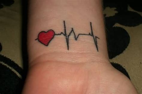 heartbeat tattoo for girl 70 fantastic ekg heartbeat tattoos ideas design gallery