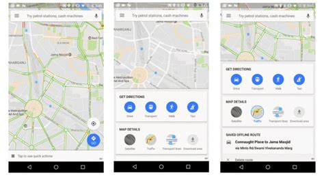 maps home screen redesigned for india gets new