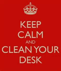 Clean Desk Quotes Clean Desk Quotes Quotesgram