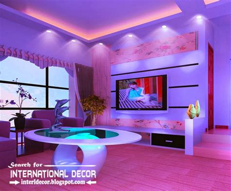 Led Lighting Ideas For Living Room Home Other32false Ceiling Pop Designs With Led Ceiling