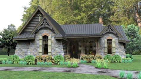 One Story Cottage House Plans Single Story Cottage House Plans Single Story Homes One Story Cabin Plans Mexzhouse