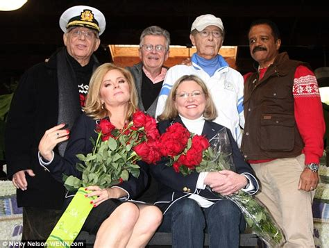 julie and doc love boat the love boat cast reunites to decorate cruise ship float