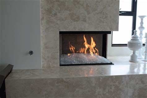 fireplace glass for fireplaces pits make for great