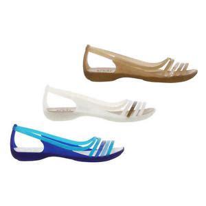 Crocs Isabela Wedges 4 crocs huarache flat womens slip on sandals shoes size uk 4 8