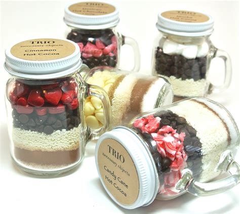 Wedding Favors Chocolate Mix by Chocolate Wedding Favor 12 Mini 4 Oz Jar Mugs