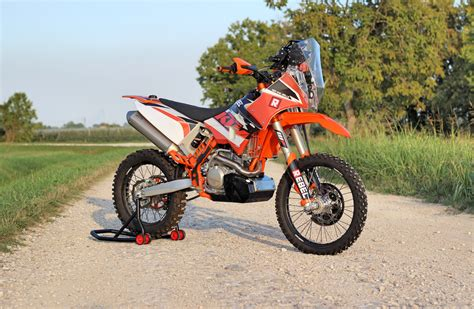 Ktm 500 Exc Plastics New Rally Kit With Traction And Wifi Connectivity