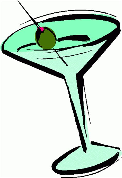 martini glass clip martini glass stock clipart clipart best