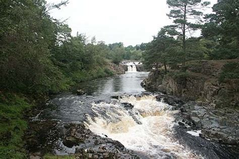 high force waterfall on the river tees photo walking britain low force waterfall on the river tees photo walking