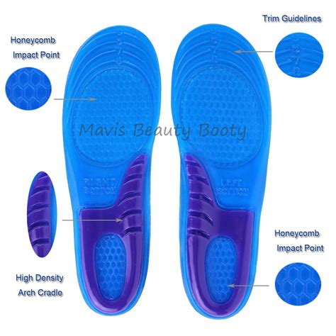 shoe insoles gel shoe insoles inserts for running shoes