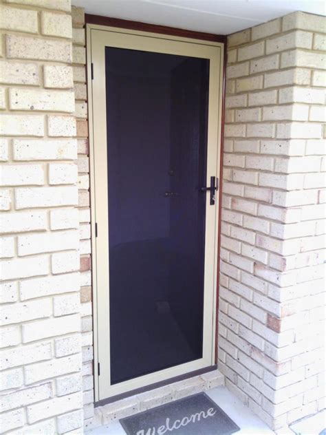 Glass Security Door Security Doors Screens In Perth Rockingham Glass