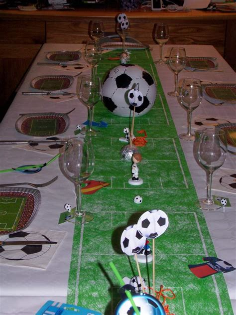 Decoration Anniversaire Football by D 233 Coration De Table Th 232 Me Football