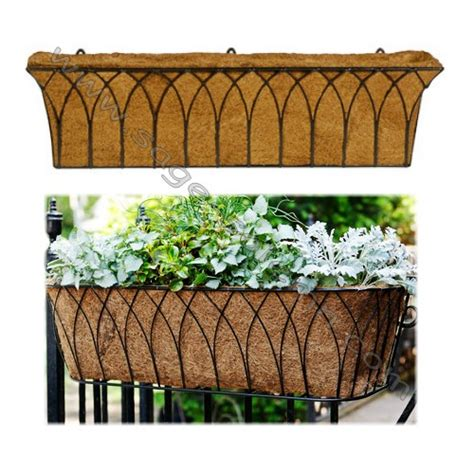 wrought iron window boxes for sale wrought iron window box wall basket flower basket planter