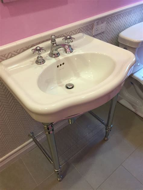 Kohler Kallista Sink by Gorgeous Kallista Janeway Console Sink White Porcelain