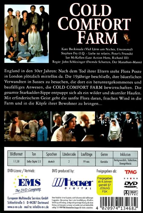 Cold Comfort Farm Trailer by Cold Comfort Farm Dvd Oder Leihen Videobuster De