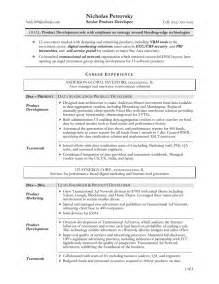 It Support Sle Resume by Technical Support Resume Sle Sales Technical Lewesmr
