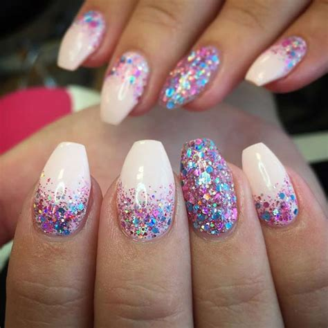 Nail Ideas by 23 Gorgeous Glitter Nail Ideas For The Holidays Stayglam