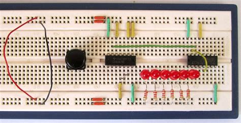 breadboard circuit for beginners tutorial 17 electronic dice circuit for beginners in electronics