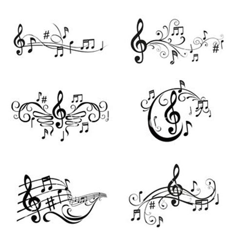 interactive tattoo design best 25 notes ideas on musica