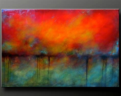paint inspiration oxidized metal 2 36 x 24 acrylic abstract by charlensabstracts