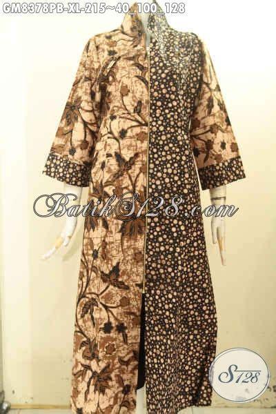 Gamis Mewah Inneke 020 Gm pakaian batik elegan nan modis produk baju batik gamis mewah motif kombinasi proses