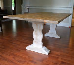 Whitewash Kitchen Table Farm Table Reclaimed Wood Dining Table Whitewash Dining