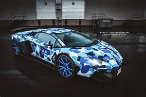 Lamborghini Aventador Camouflage Lamborghini Aventador Bape Arctic Camo By Liberty Walk