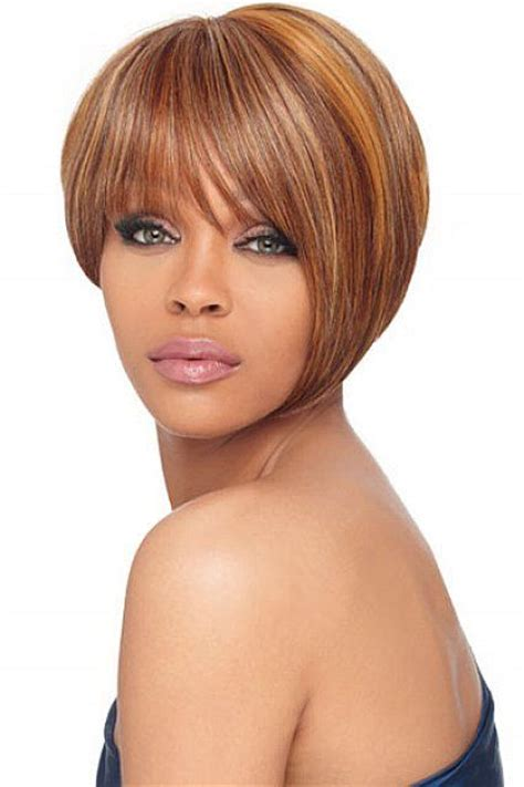 light brown hair for black women light red brown hair color with highlight for short hair