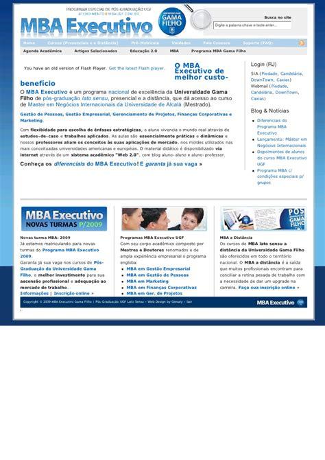 Cd Mba by P 243 S Gradua 231 227 O Gama Filho Mba Executivo Gest 227 O Empresarial