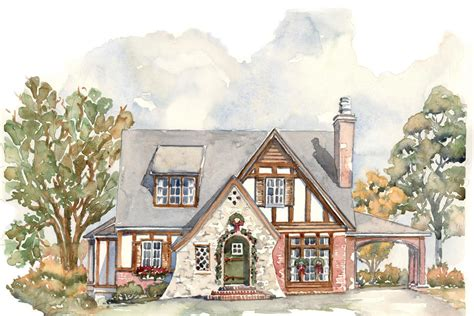 A Tiny Tudor House Plans We Know You Ll Love Southern Small House Plans Tudor