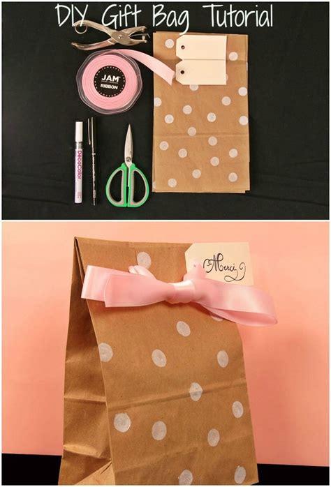 diy gift bags merci beau cuuuute