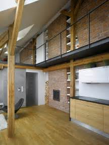 small attic loft apartment in prague idesignarch interior design architecture interior
