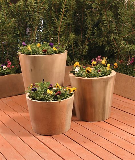 unique outdoor planters jug garden planter garden planters with clean lines