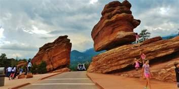 Balanced Rock Garden Of The Gods Exploring The Springs Garden Of The Gods Colorado Travel