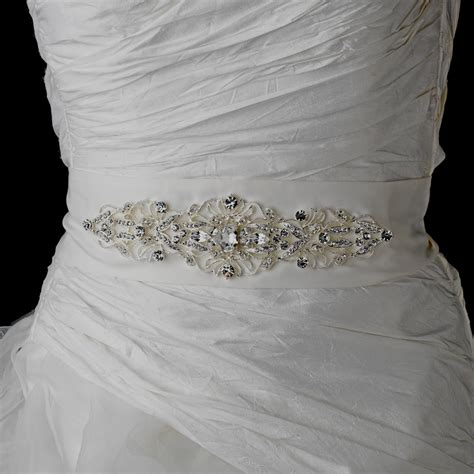 wedding dress sashes and belts