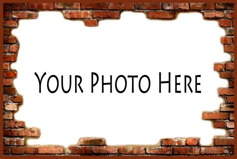 Your Photo customize a t shirt with your pet s photo brick frame