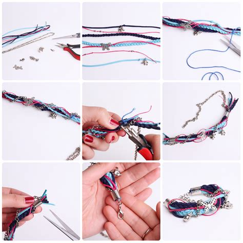 how to make jewelry bracelets how to make a braided charm bracelet happiness boutique
