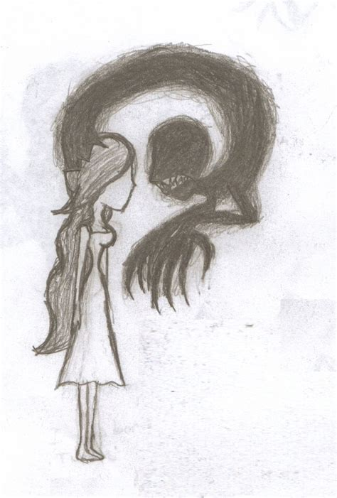 Cool Things To Draw With Charcoal by Demonic Drawing Ideas At Getdrawings Free For