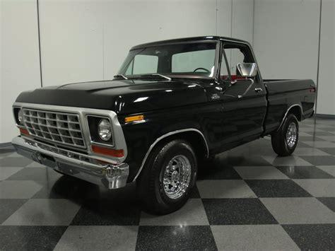 vintage black a 1978 ford f 100 ford trucks